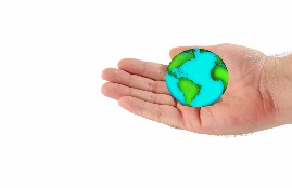 World in hand - Dreamtime image